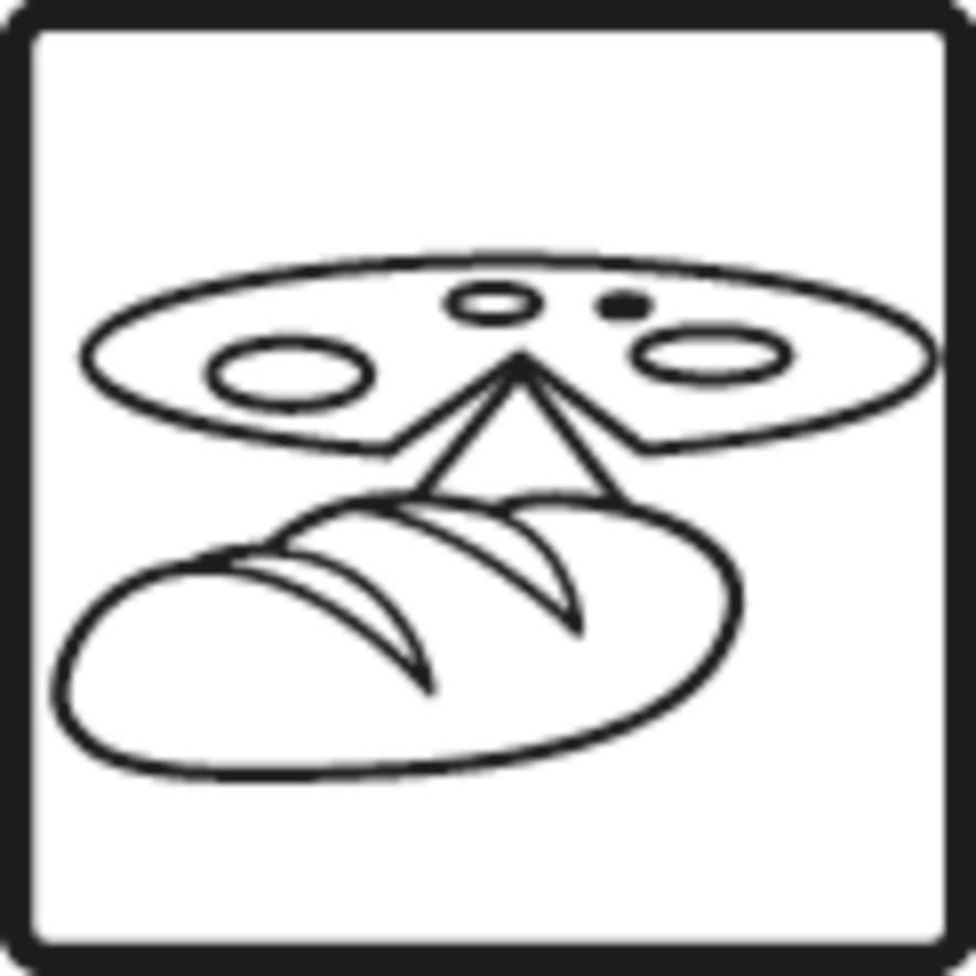 Pizza- und Brotstufe